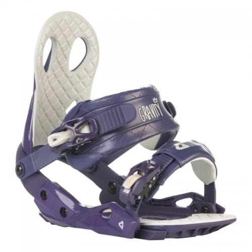 Dámské vázání na snowboard Gravity G2 Lady purple 2015/16 - AKCE1