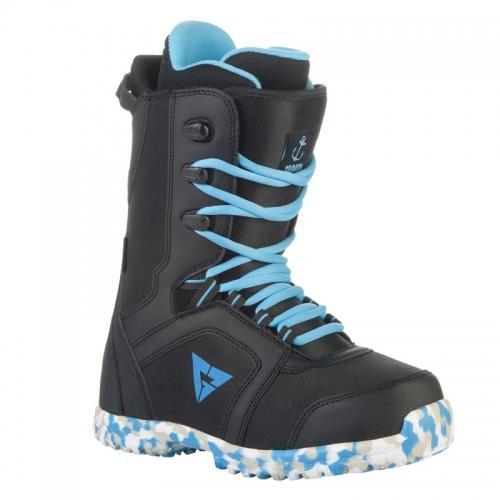 Dětské snowboardové boty Gravity Micro black/blue - AKCE1