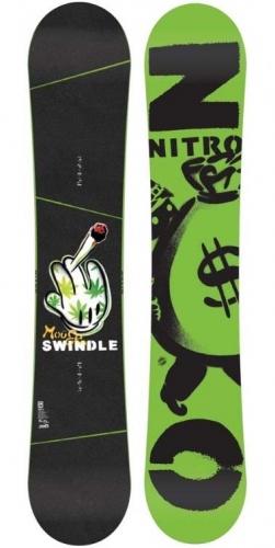 Pánský snowboard Nitro Swindle - AKCE1