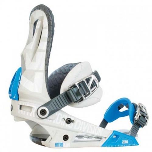 Snowboardové vázání Nitro Zero blue - VÝPRODEJ1