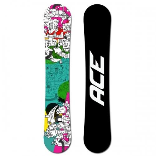 Snowboard Ace Mayday, univerzální snowboardy - AKCE1