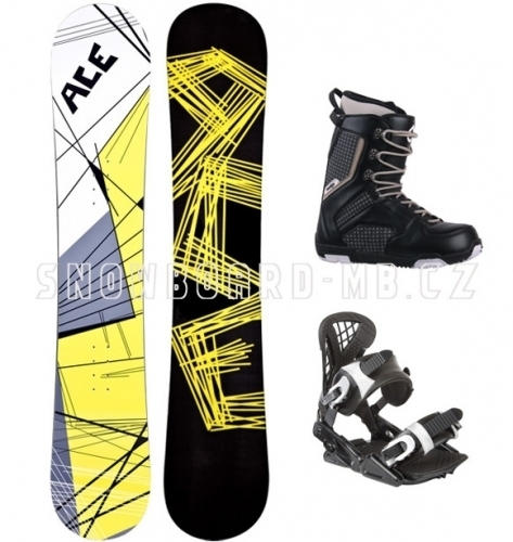 Pánský snowboardový komplet Ace Cracker S2 - VÝPRODEJ1