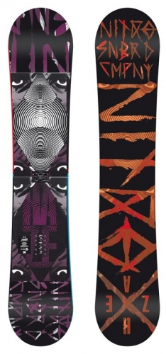 Snowboard Nitro Haze - AKCE1