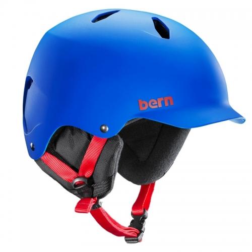 Dětská helma Bern Bandito Matte cobalt blue - AKCE1