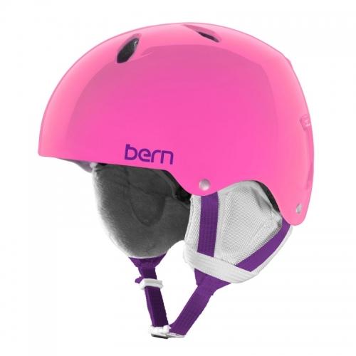 Snowboardová helma Bern Diablo translucent pink - AKCE1