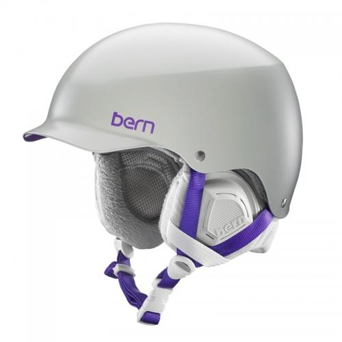 Snowboardová helma Bern Muse Satin grey - AKCE1