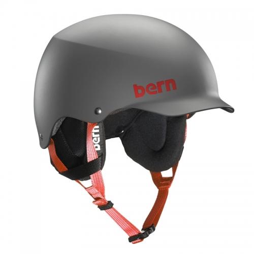 Snowboardová helma Bern Team Baker matte grey - AKCE1