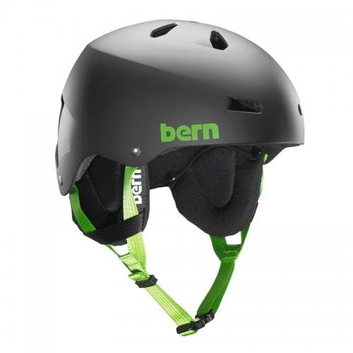 Snowboardová helma Bern Team Macon matte black - AKCE1