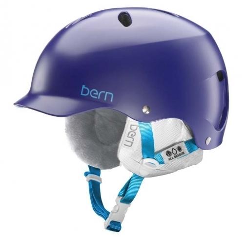Dámská helma Bern Lenox satin midnight - VÝPRODEJ1