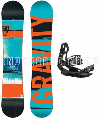 Snowboard set Gravity Contra1