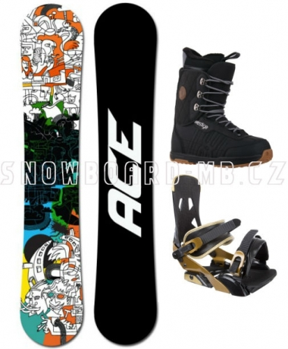 Snowboard komplet Ace Rush - AKCE1