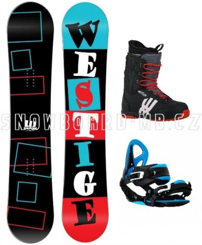 Snowboard komplet Westige Square - VÝPRODEJ1