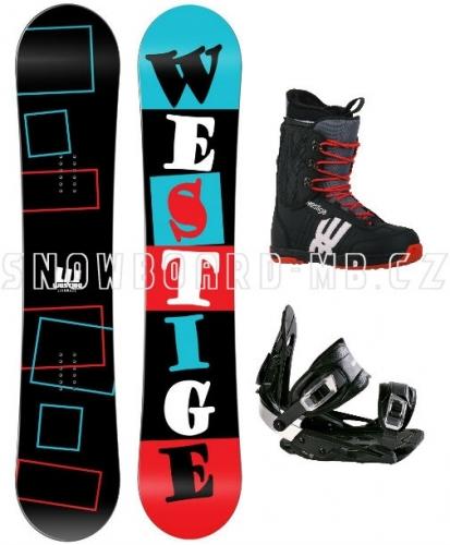 Snowboard komplet Westige Square s botami - AKCE1