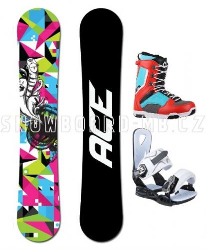 Snowboard komplet Ace Demon - VÝPRODEJ1