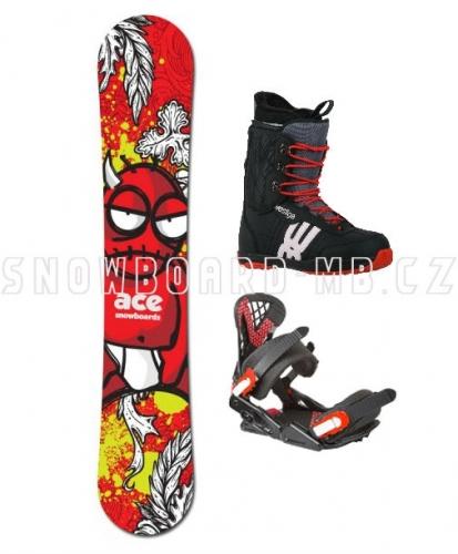 Snowboardový komplet Ace Joker white - VÝPRODEJ1