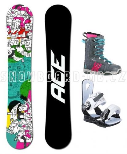 Dámský snowboard komplet Ace Mayday - VÝPRODEJ1