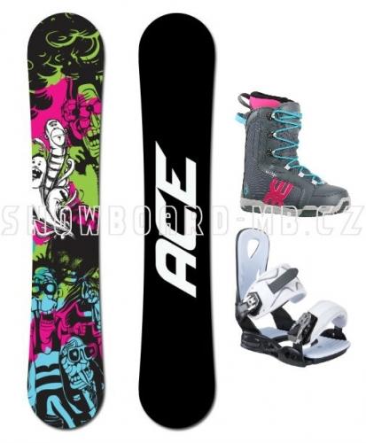 Dámský snowboard komplet Ace Monster - VÝPRODEJ1