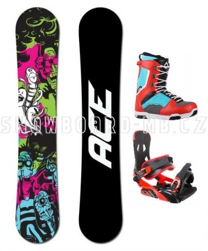 Snowboardový komplet Ace Monster - VÝPRODEJ1