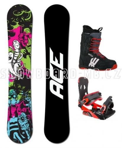 Snowboard komplet Ace Villain - VÝPRODEJ1