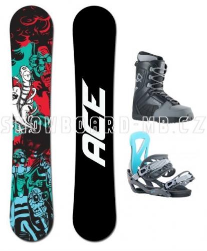 Snowboardový komplet Ace Villain1