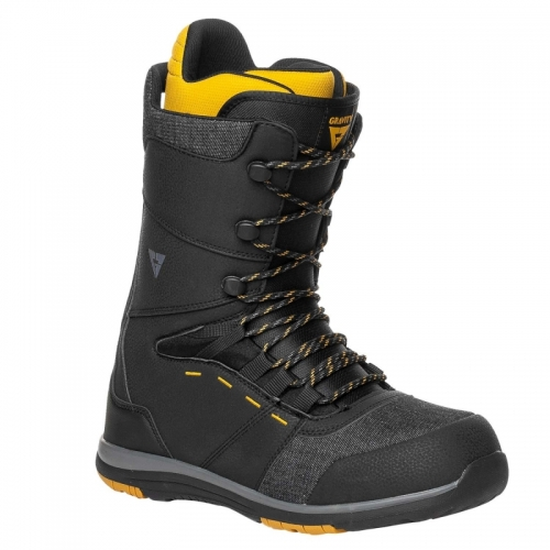 Boty Gravity Manual black/yellow1