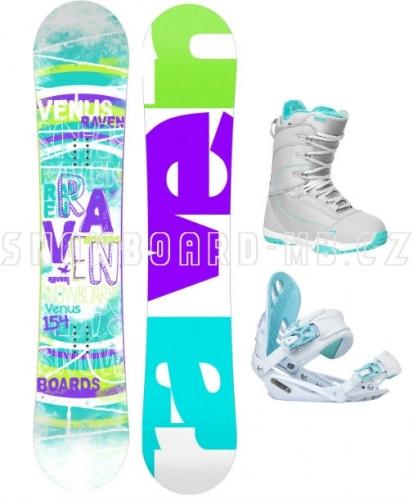 Dámský snowboard komplet Raven Venus 20171