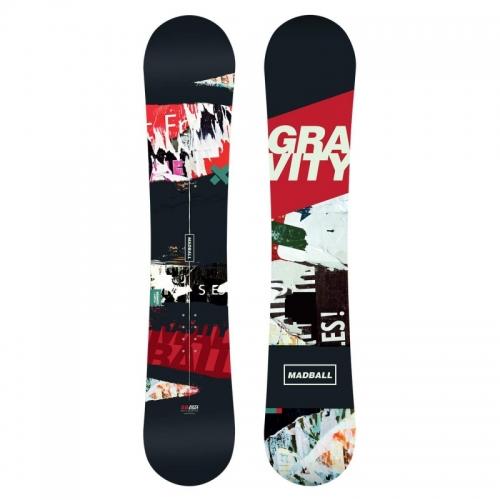 Snowboard Gravity Madball1