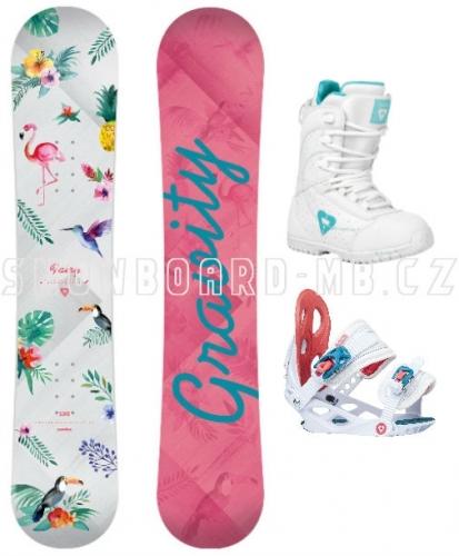 Dětský snowboard set Gravity Fairy - AKCE1