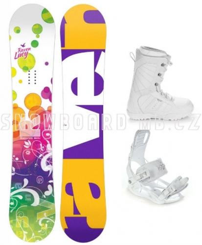 Dívčí snowboard komplet Raven Lucy1