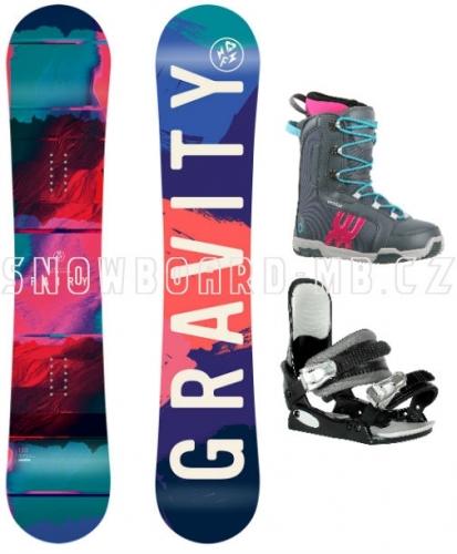 Dívčí snowboardový komplet Gravity Fairy1