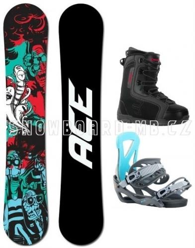 Snowboard komplet Ace Villain1