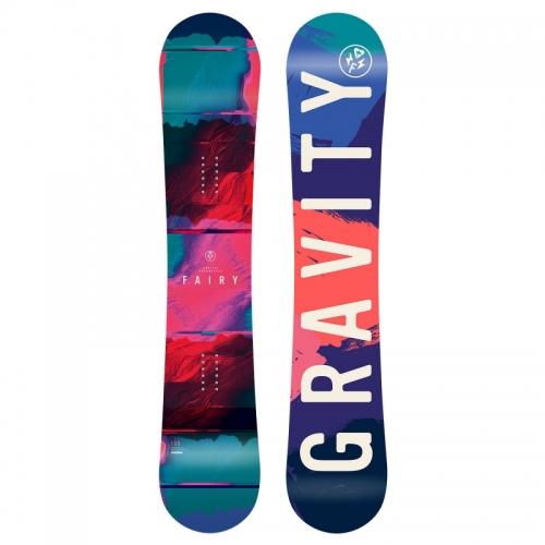 Dětský snowboard Gravity Fairy dívčí 2018/191