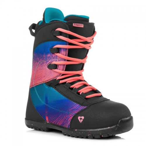 Dětské boty Gravity Micra black/pink1
