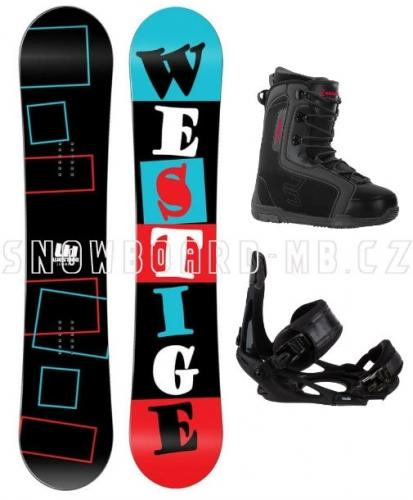 Snowboard komplet Westige Square - AKCE1