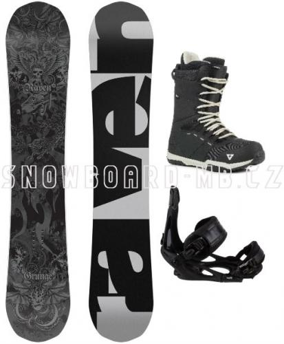 Snowboardový komplet Raven Grunge1