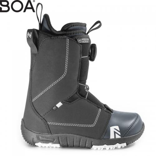Dětské boty Nidecker Micron Boa black1