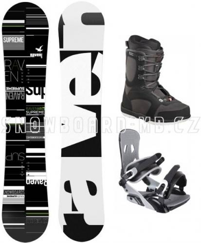 Snowboard komplet Raven Supreme s botami Head Rodeo - VÝPRODEJ1