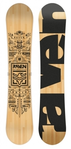 Snowboard Raven Solid1