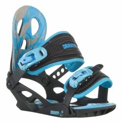 Dětské snowboardové vázání Gravity G1 Jr black 2015/16