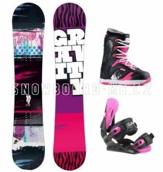 Dívčí snowboard komplet Gravity Fairy