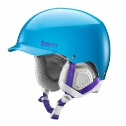 Snowboardová helma Bern Muse Satin ocean blue