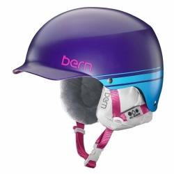 Dámská helma Bern Muse purple retro