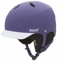 Dámská helma Bern Lenox matte purple