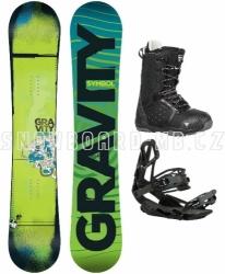 Snowboard komplet Gravity Symbol black