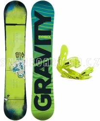 Snowboard set Gravity Symbol