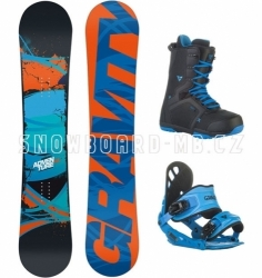 Snowboard komplet Gravity Adventure blue