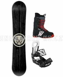 Snowboard komplet Apache černý