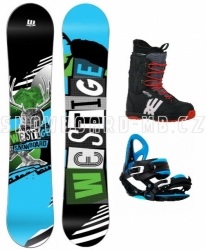 Snowboard komplet Westige Max modrá