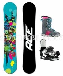 Dámský snowboard komplet Ace Venom