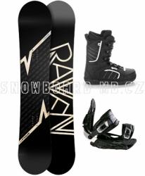 Snowboardový komplet Raven Pulse s vázáním a botami